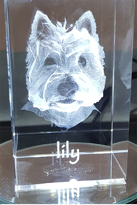 personalised crystal gifts